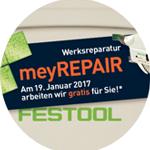 Festool Reparatur Promotion